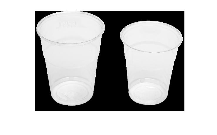 Bicchieri frappè in PLA