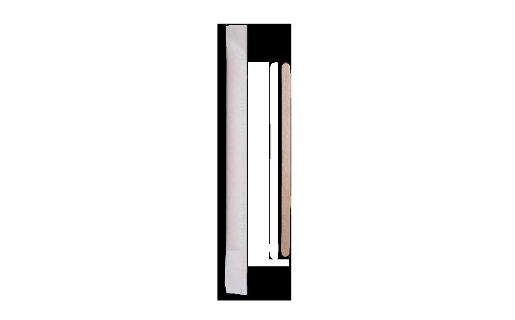 Palettine caffè in legno imbustate