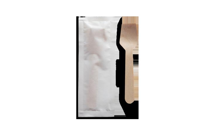 Palettine per gelato in legno imbustate