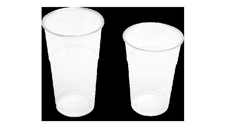 Bicchieri frappè in PET